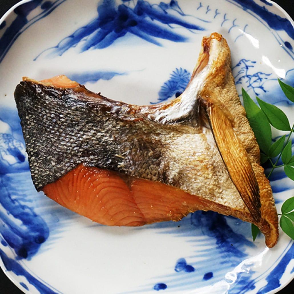 【写真】大晦日・年取り魚の塩引鮭