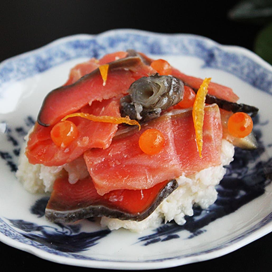 【写真】新年を迎える鮭料理