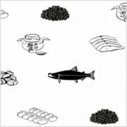 鮭をまるごと食べつくす