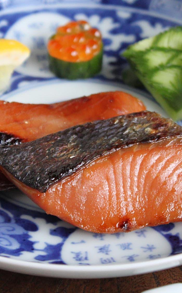 鮭の粕漬・味噌漬